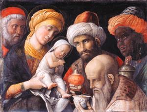 "Andrea Mantegna's ""Adoration of the Magi"" (c. 1500)"