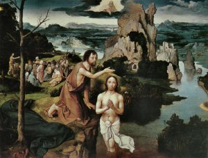 The Baptism of Christ, Joachim Patinir, 1515