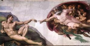 Michelangelo Buonarroti; The Creation of Adam