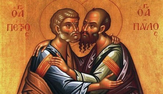ss peter and paul embrace